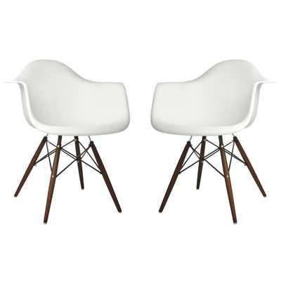 Scandinavian Arm Chair - Set of 2 - AllModern