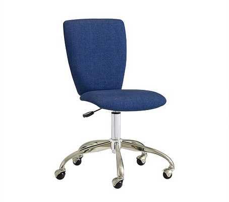 Upholstered Square Desk Chair - Pottery Barn Kids