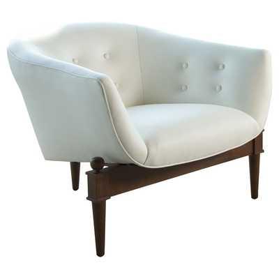 Mimi Leather Lounge Chair - Wayfair