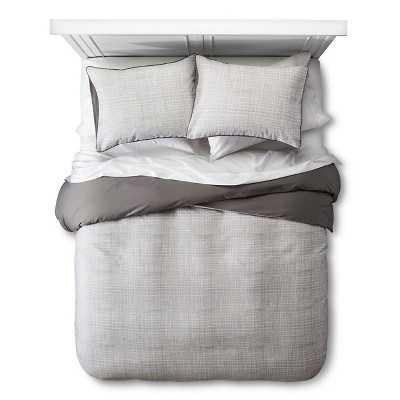 "Duvet Cover Set Linework Texture Room Essentialsâ""¢-Queen - Target"