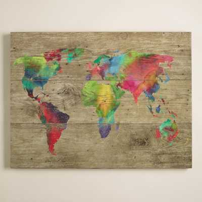 World of Colors by Sandra Jacobs - World Market/Cost Plus