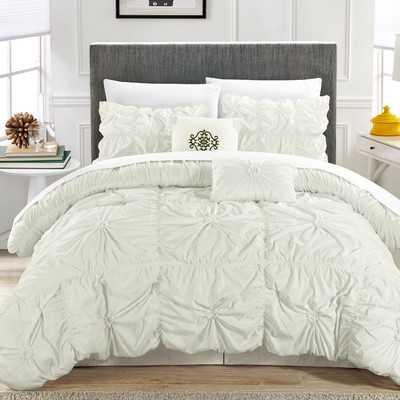 Halpert Floral Pinch 6 Piece Comforter Set - Wayfair