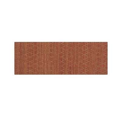 Tochi Coral Orange 2.5'x7' Rug Runner - Crate and Barrel