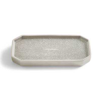 Shagreen Tray - Grandin Road