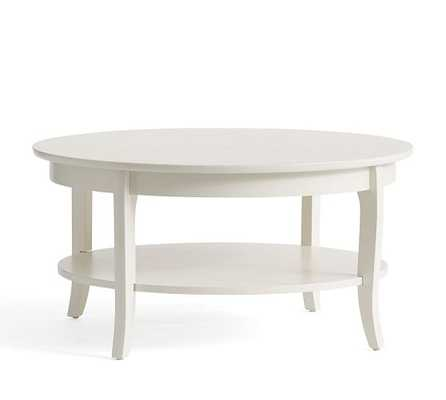 Chloe Round Coffee Table - Pottery Barn