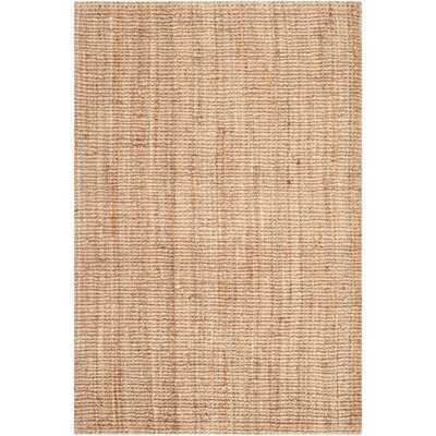 Safavieh Hand-Woven Thick Jute Rug (7'6 x 9'6) - Overstock