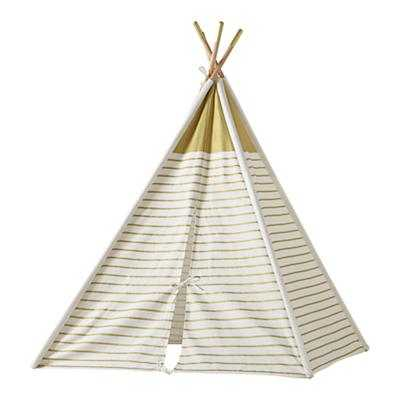 A Teepee to Call Your Own (Gold Stripe) - Land of Nod