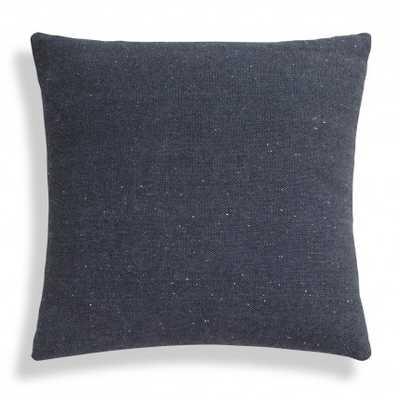 """18"""" Sq Pillow-  Navy Blue- Feather fill insert - BluDot"""