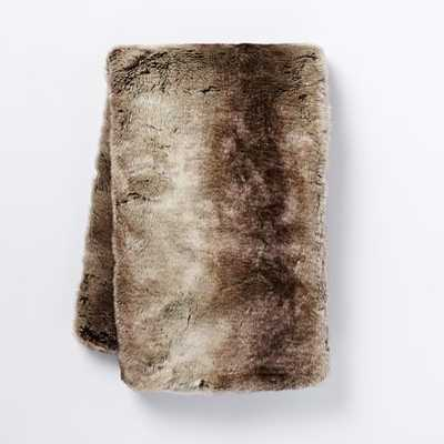 Faux Fur ThrowFaux Fur Throw - West Elm