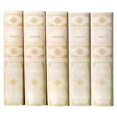 VELLUM STYLE DECORATIVE BOOK SET - juniperbooks.com