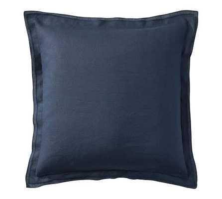 Belgian Flax Linen Flange Pillow Cover - Pottery Barn