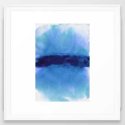 "The Sky - 22"" X 22"" - SCOOP WHITE  Frame - Society6"