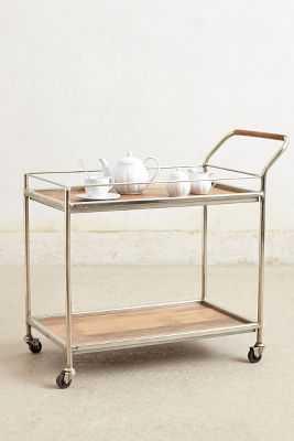Wooden Bar Cart - Anthropologie