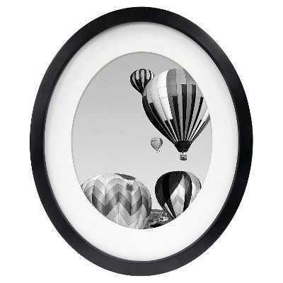 """Oval Picture Frame - Black - 8x10 - Room Essentialsâ""""¢ - Target"""