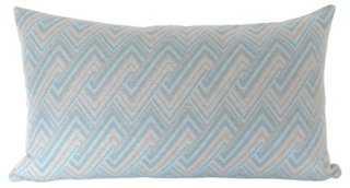 Brenta Azure Wool Lumbar, insert - One Kings Lane