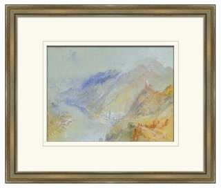 "Pastel Landscape II-26"" x 22""-Framed - One Kings Lane"