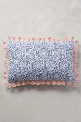 Folding Fans Pillow - Anthropologie