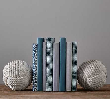 Nautical Knot Bookends - Pottery Barn