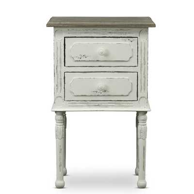 Anjou Traditional French Accent Nightstand - Overstock