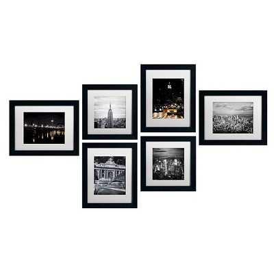 "Trademark Global Mathieu Rivrin 'Sunrise in Paris' Multi Panel Art Set (19"") - Framed - Target"