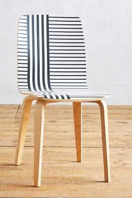 Striped Tamsin Dining Chair - Anthropologie