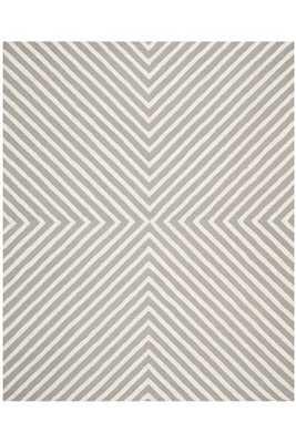 PEMBRIDGE AREA RUG - Silver; 8' x 10' - Home Decorators