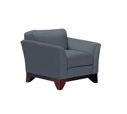 GREENWICH UPHOLSTERED ARMCHAIR - Pottery Barn