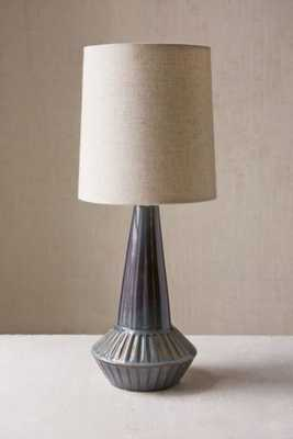 Laurel Canyon Ceramic Lamp - Blue - Urban Outfitters