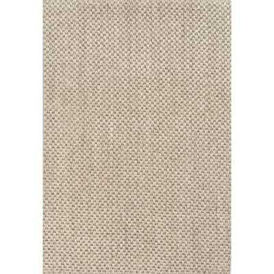 Naturals Sanibel Ivory/White Solid Area Rug - Wayfair