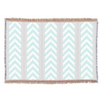 Chevron Stripes Pattern Throw Blanket - zazzle.com