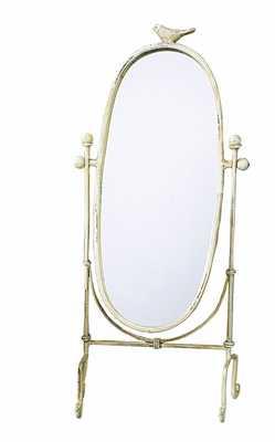 Creative Co-op Cottage Chic Vanity Mirror, 18.5-Inch - Amazon