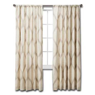 """Ogee Curtain Panel - 55""""W x 84""""L - Target"""
