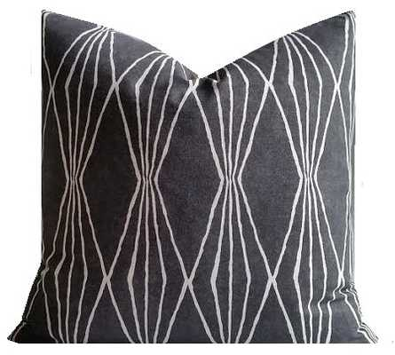 "Geometric Pillow - 18"" x 18"" - Insert Sold Separately - Etsy"