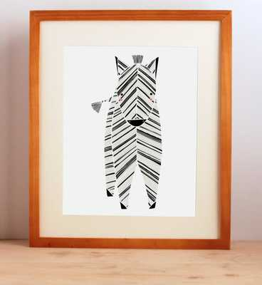 Zeek Zebra Print - unframed - Etsy