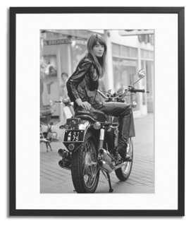 """Françoise Hardy-212"""" x 16"""" x 2""""-Framed - One Kings Lane"""