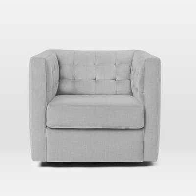 Rochester Swivel Chair - West Elm