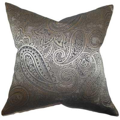 Cashel Paisley Down Fill Throw Pillow - Overstock
