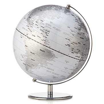 World Globe - White - Z Gallerie