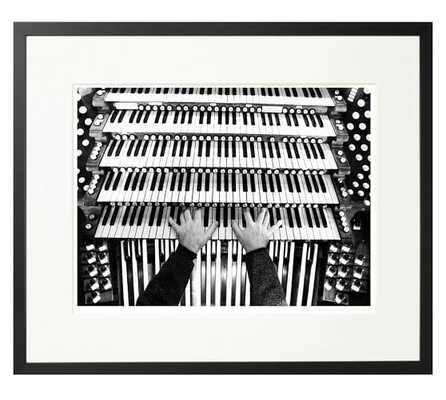 Riverside Church Organ - 1999 - 26x22, Framed - Pottery Barn