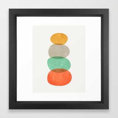 Balance (Green) - Framed - Society6