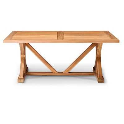 Morie Farmhouse Wood Dining Table - Target