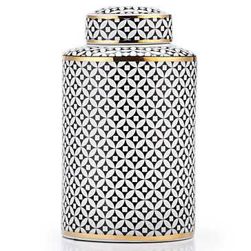 "Emilia Canister - 12.75""H - Z Gallerie"
