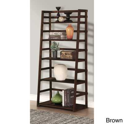 WYNDENHALL Normandy Ladder Shelf Bookcase - Overstock