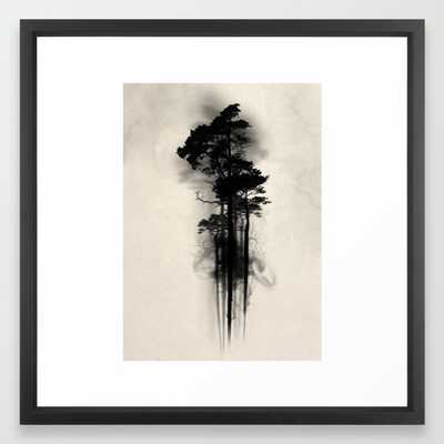 Enchanted forest 22x22 framed - Society6
