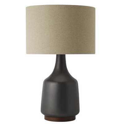Morten Table Lamp -Black - West Elm