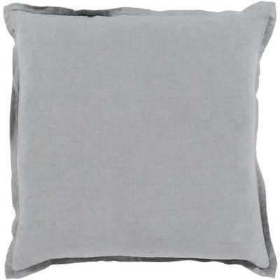 "Windsor Throw Pillow - Ivory- 18"" - Polyester fill - Wayfair"