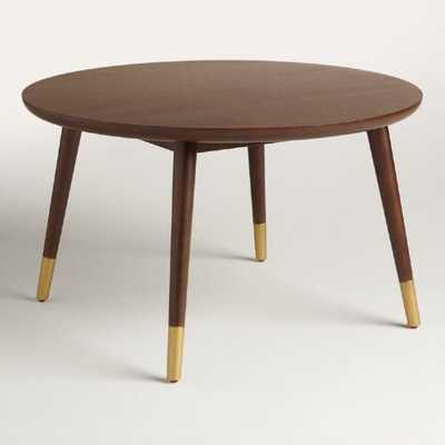 Large Wood Randon Coffee Table - World Market/Cost Plus