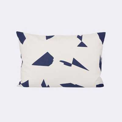 CUT CUSHION - OFF-WHITE- 60 x 40 cm- Feather and down insert - FermLiving