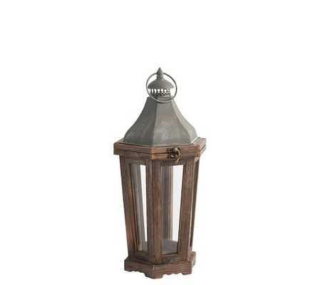Park Hill Lantern, Small - Pottery Barn