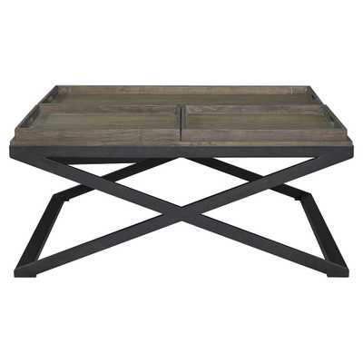 Artisanal Tray Cocktail Table - furniture.com